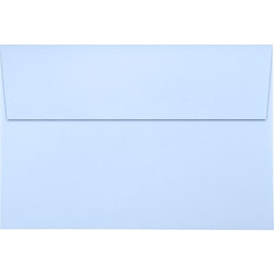 LUX A8 Invitation Envelopes (5 1/2 x 8 1/8) 1000/Pack, Baby Blue (LUX4885131000)