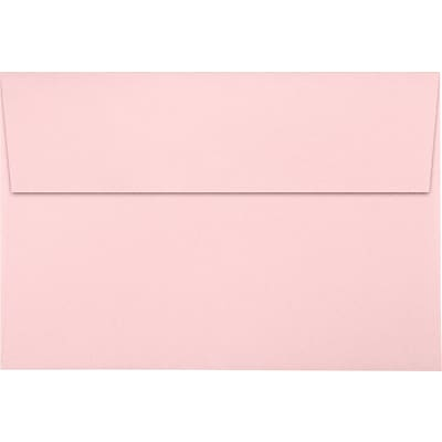 LUX A8 Invitation Envelopes (5 1/2 x 8 1/8) 500/Pack, Candy Pink (LUX-4885-14-500)