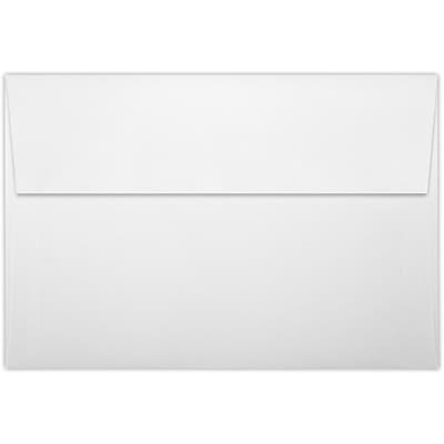 LUX A8 Invitation Envelopes (5 1/2 x 8 1/8) 250/Pack, White Linen (LUX4885WLI250)
