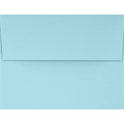 LUX A4 Invitation Envelopes (4 1/4 x 6 1/4) 50/Pack, Pastel Blue (SH4872-01-50)