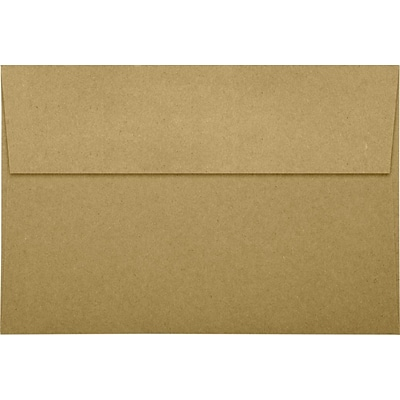 LUX A8 Invitation Envelopes (5 1/2 x 8 1/8) 50/Pack, Grocery Bag (LUX-4885-GB-50)
