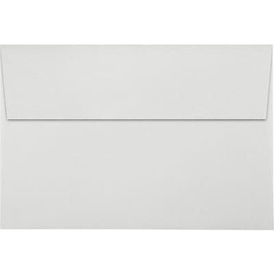 LUX A8 Invitation Envelopes (5 1/2 x 8 1/8) 250/Pack, Pastel Gray (SH4885-03-250)