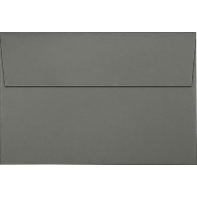LUX A8 Invitation Envelopes (5 1/2 x 8 1/8) 500/Pack, Smoke (LUX-4885-22-500)