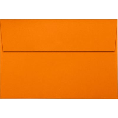 LUX A8 Invitation Envelopes (5 1/2 x 8 1/8) 1000/Pack, Mandarin (LUX4885111000)