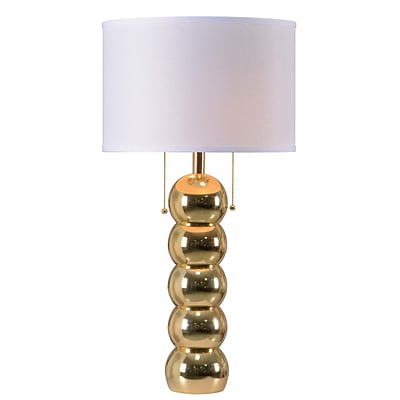 Kenroy Home 29H Incandescent Table Lamp Gold Finish (32140GLD)