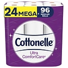 Cottonelle Ultra ComfortCare 2-Ply Standard Toilet Paper, White, 284 Sheets/Roll, 24 Rolls/Pack (537