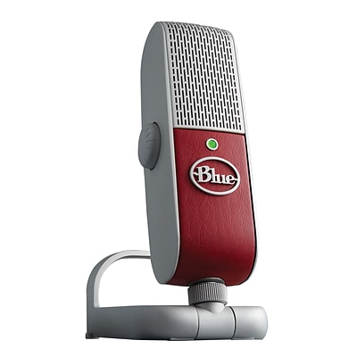 Blue Microphones Raspberry USB Mobile Condenser Microphone, Red/Gray