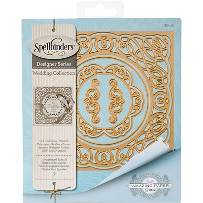 Spellbinders Nestabilities Dies-Intertwined Spirals