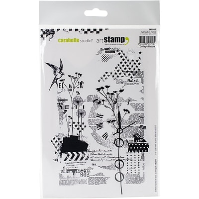 Carabelle Studio Cling Stamp A5-Nature Collage