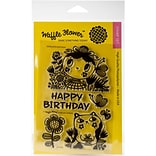 Waffle Flower Crafts Clear Stamps 4X6-Enveloper Birthday