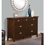 Simpli Home Acadian 36H Dresser in Tobacco Brown (3AXCACA-03)
