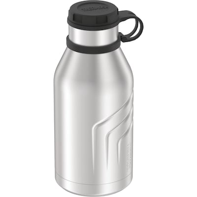 Thermos 32-Ounce Bottle with Screw-top Lid, Stainless Steel (TS4800SS4)