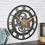 FirsTime Oxidized Gears 15H Metallic Teal Wall Clock (25688)