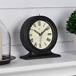 FirsTime Antollini 5H Black Tabletop Clock (99516)