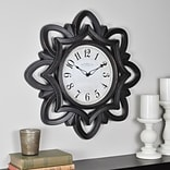 FirsTime Rosette 20H Bronze Wall Clock (99659)