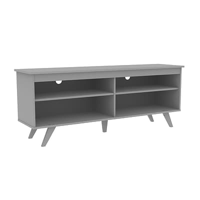 Walker Edison 58 Wood Simple Contemporary Console - Grey (SP58SCCGY)