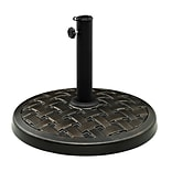 Walker Edison Round Umbrella Base - Antique Bronze (SPB30RPRAC)