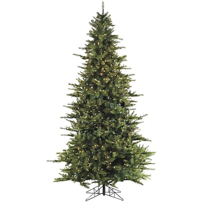 Fraser Hill Farm 12 Ft. Southern Peace Pine Christmas Tree with Smart String Lighting (FFSP012-3GR)