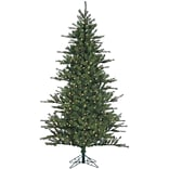 Fraser Hill Farm 6.5 Ft. Southern Peace Pine Christmas Tree with Clear LED Lighting (FFSP065-5GR)