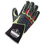ProFlex® 925CR6 Performance Dorsal Impact-Reducing and Cut Resistance Gloves, Lime, Small (17292)