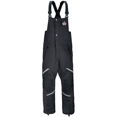 N-Ferno® 6471 Thermal Bibs/Overalls, Black, 3XL (41217)