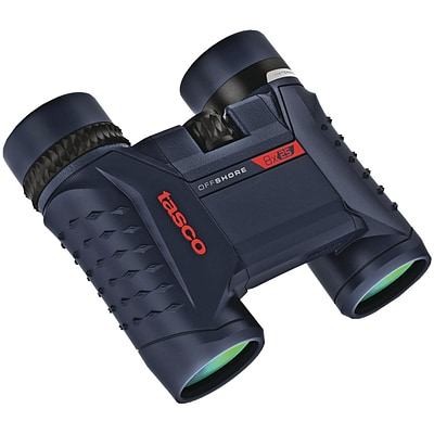 Tasco Offshore 8 x 25mm Waterproof Folding Roof Prism Binoculars (200825)