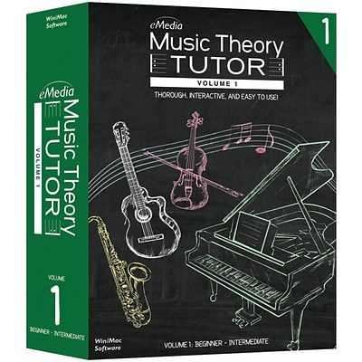 eMedia Music Music Theory Tutor Volume 1 (AD02151)