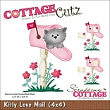 CottageCutz Kitty Love Mail 2.3X3.4 CottageCutz Die (4X4464)