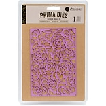 Prima Marketing Rose Wall Purple Metal Die (584962)