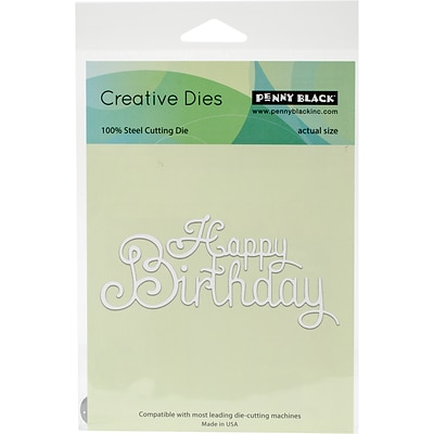 Penny Black Creative Dies-Your Day, 4.25X2