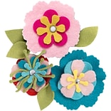 Sizzix Thinlits Dies By Eileen Hull 6/Pkg -Stitchy Flowers & Leaf