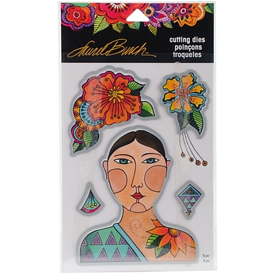 Stampendous Laurel Burch Dies-Blossoming Woman