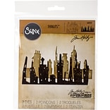 Sizzix Thinlits Dies By Tim Holtz 2/Pkg-Skyline Cityscape
