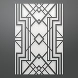 Ultimate Crafts The Ritz Background Die-Diamond Geometry 3.7X5.5