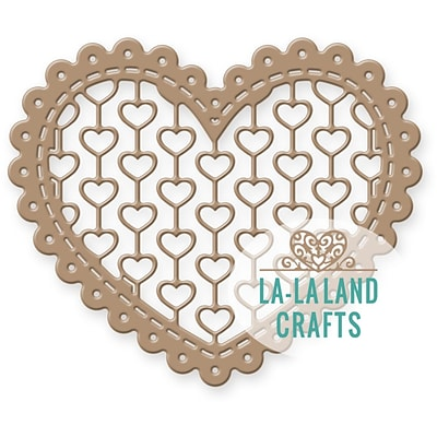 La La Land Die-Lacy Heart, 2.5X3