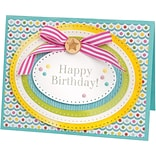 Sizzix Framelits Dies By Stephanie Barnard 8/Pkg-Dotted Ovals