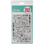Avery Elle Clear Stamp Set 4X6-More Furry Friends