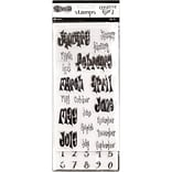 Dyan Reaveleys Dylusions Creative Dyary Stamp Set-