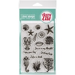 Avery Elle Clear Stamp Set 4X6-The Reef