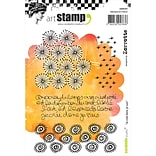 Carabelle Studio Cling Stamp A6-I Create So I Am