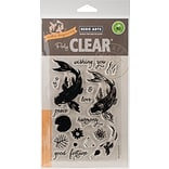 Hero Arts Clear Stamps 4X6-Color Layering Koi