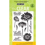 Hero Arts Clear Stamps 4X6-Hello Sunshine Daisies