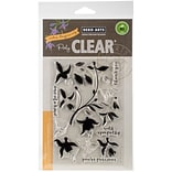 Hero Arts Clear Stamps 4X6-Color Layering Fuchsia
