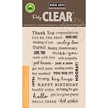 Hero Arts Clear Stamps 4X6-Many Everyday Messages