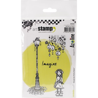 Carabelle Studio Cling Stamp A6-Zinouk Of The Little Notes