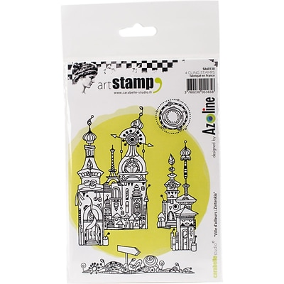 Carabelle Studio Cling Stamp A6-Zintenkia City From Afar