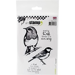 Carabelle Studio Cling Stamp A6-Every Bird