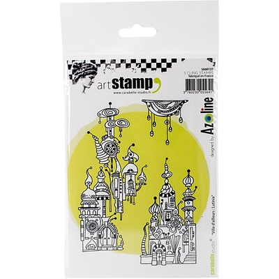 Carabelle Studio Cling Stamp A6-Lutinia City From Afar