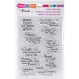 Stampendous Perfectly Clear Stamps 4.625X7.25-Ocean Wisdom
