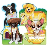 Sticky Mosaics Kit-Playful Puppies